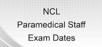 NCL Paramedical Post Admit Card 2020